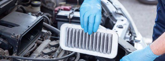Air filter inspection and replacement