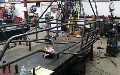 Building body of car