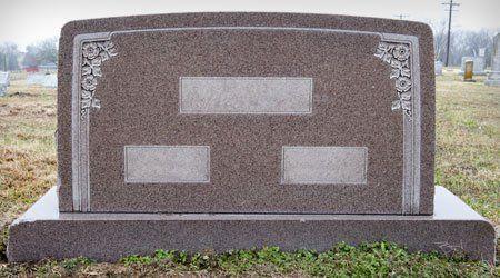 Granite Headstone