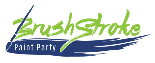 BrushStroke Paint Party - logo