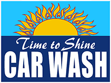 Time To Shine Car Wash - Logo