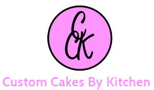 Custom Cakes By Kitchen & Café - Logo