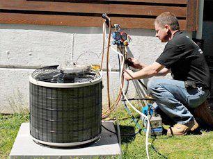 Heating system repairing