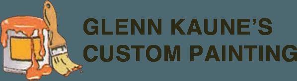 Glenn Kaune's Custom Painting logo