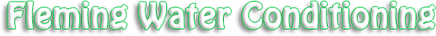 Fleming Water Conditioning Logo