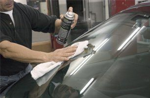 Windshield Cleaning