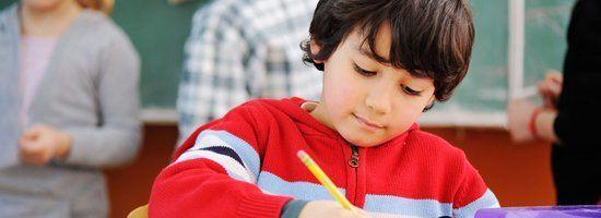kid's writing