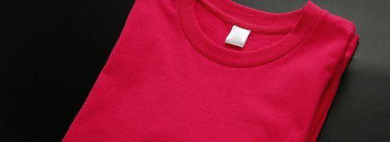 blank red shirt