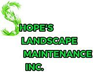 Shope's Landscape Maintenance Inc - Logo