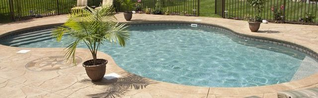 Pool patio pressure washing