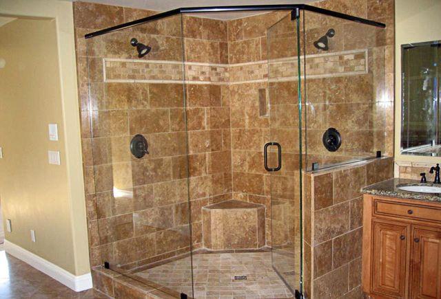 Glass Works Of Hickory Glass Services Hickory NC - Bathroom shower glass installation