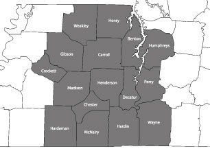 Arrow Paving Co. Inc. - service area map