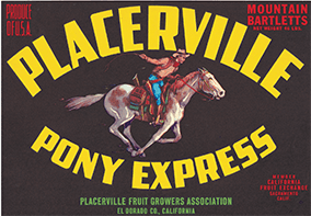 Placerville Pony Express