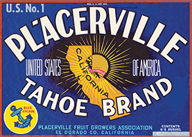 Placerville Tahoe Brand