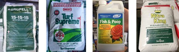 Lawn supplies