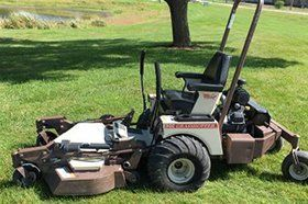 Used lawn mower