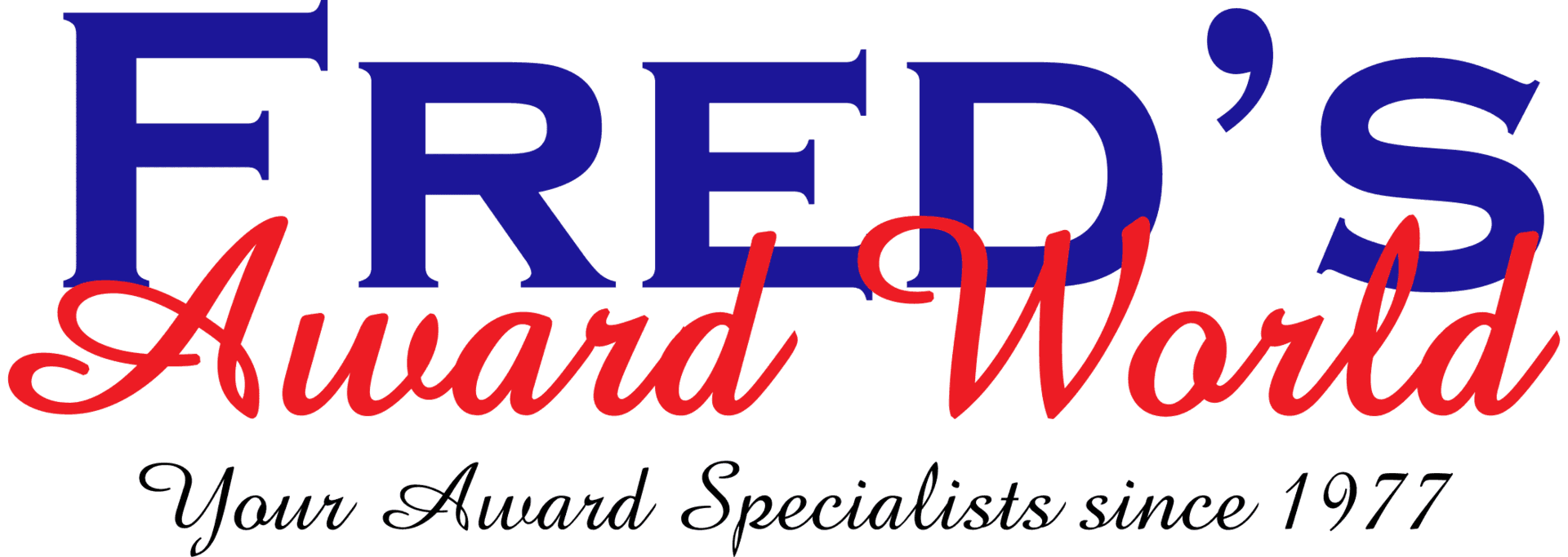 Fred's Award World - logo