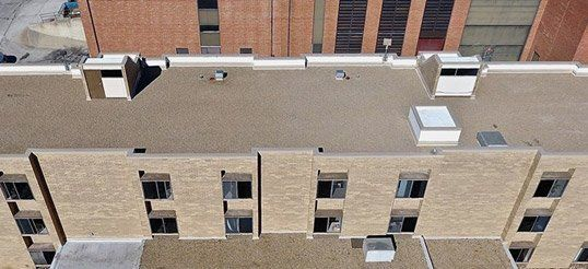 Built Up Commercial Roofing System Des Moines Ia