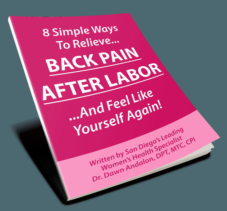 Postpartum Back Pain Tips Report