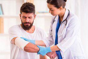 Injury hands