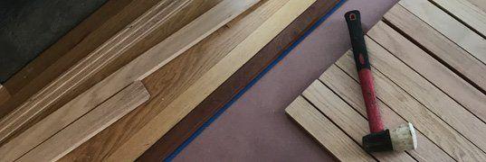 Selection of hardwood types