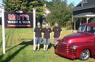 Matt's Wash & Wax staff