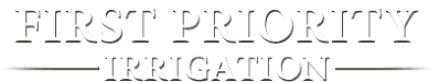 First Priority Irrigation - Logo