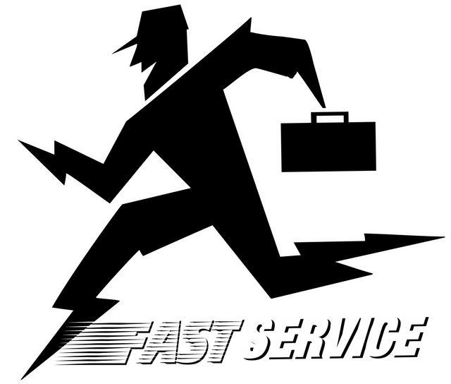 running man fast service