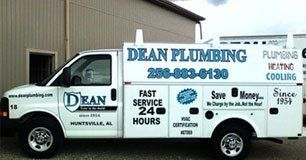 Dean Plumbing Van