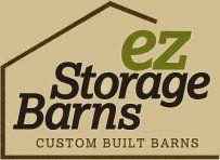 EZ Storage Barns - logo