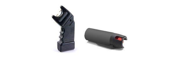taser and pepper spray