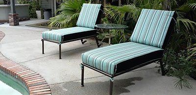 Commercial Outdoor Furniture Loungers Phoenix AZ