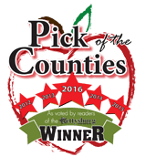 Pick of the Counties Logo