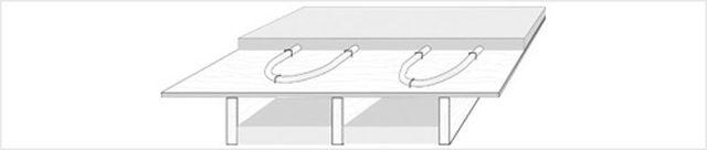 Suspended Floor Underlayment