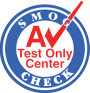 AV Test Only Center logo