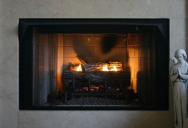 Gas Logs Vented And Vent Free Black Mountain Nc