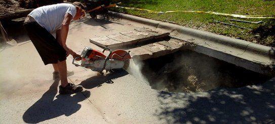 Driveway removal