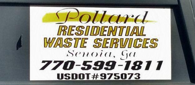 Residential Garbage Removal | Garbage Pickup | Senoia, GA