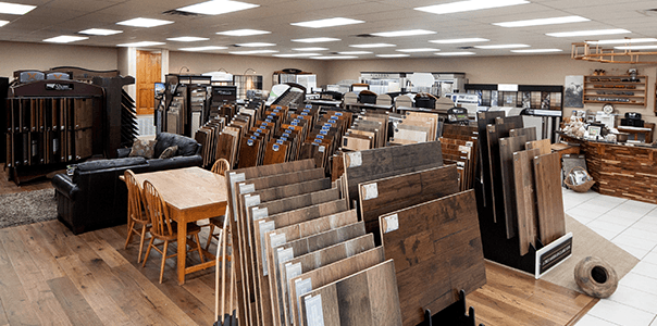 Hardwood flooring for dining area