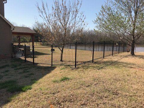 Wrought Iron Fences Metal Fences Bartlesville Ok