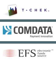 T-Chek , Comdata, EFS