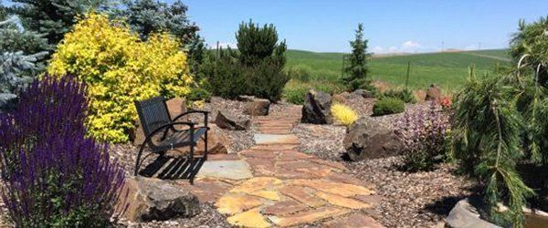 ... call Spokane Landscaping & Maintenance. We will be happy to visit your  property and provide you with all of the information that you need. - Stone Services Rock Art Spokane Valley, WA