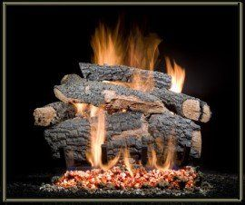 vented gas log