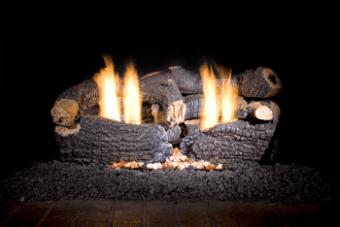 vent free gas log