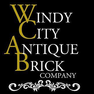 windy city antique brick logo