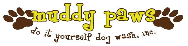 Muddy Paws DIY Dog Wash Inc. logo