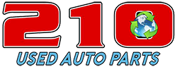 210 Used Auto & Truck Parts - Logo