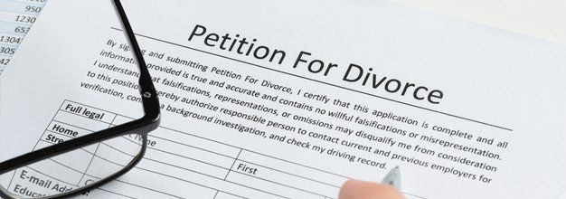 petition for divorce document