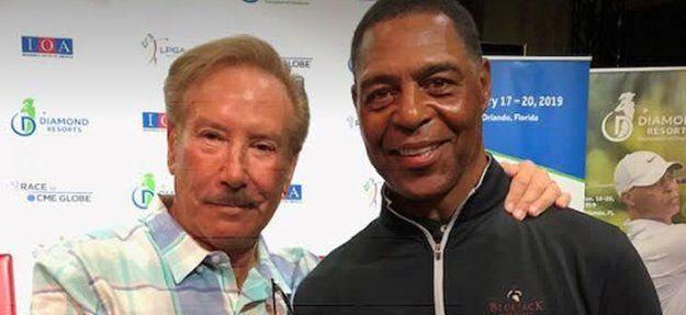 Dennis Silvers with Marcus Allen