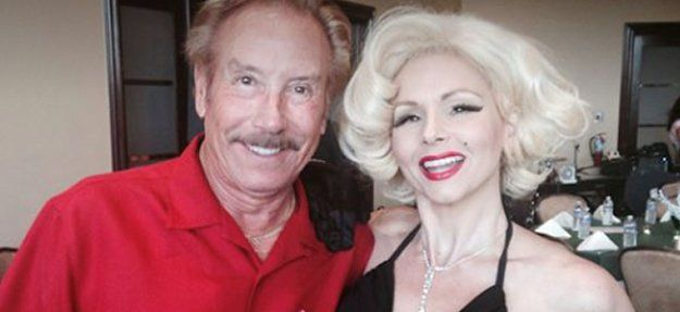 Dennis With Friend Marilyn at the Awards Dinner for Henry's Place That Dennis MC'd at This Yearly Fundraiser